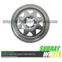 Galvanized Steel Trailer Wheels