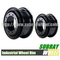 Heavy duty truck wheel rim