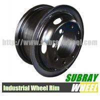 Truck steel tube wheel rim