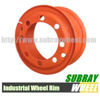 Forklift tyre wheel solid rubber rim