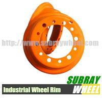 Forklift wheel Rim and solid tire Rim