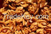 Crude and cleaned walnuts FOB Odessa Ukraine