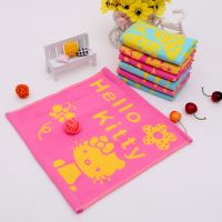 cotton small square cheap towels