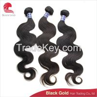 Unprocessed body wave hair, Cambodian hair cheap sale