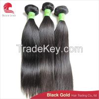 Unprocessed high quality straight wave Brazilian hair extension out sale