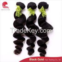 Hot sale Brazilian hair loose wave, Top grade virgin hair extensions