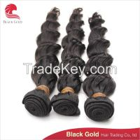 Cheap price high quality regular wave Brazilian human hair exrtention