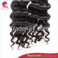 Cheap price high quality regular wave Brazilian human hair exrtention