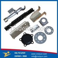 OEM custom CNC precision sheet metal parts fabrication