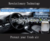 Hot new products for 2014- ionic tube for car and home air cleaner purifier freshener