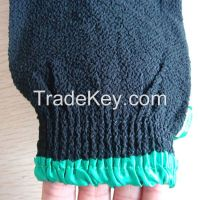 black hammam scrub mitt, magic peeling glove, exfoliating bath glove