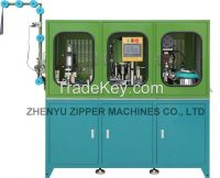Auto Film Zipper Sealing, punching holes, pin and box fixing 3 union Machines