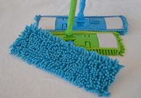 Microfiber Chenille Dust Flat Mop Easy Cleaning with Telescopic Handle