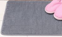 Luxury Soft Microfiber Non-slip Antibacterial Bath Matt