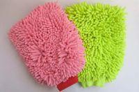 Microfiber Chenille Car Care Wash Clean Mitt Glove high quality