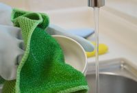 Microfiber Kitchen Dual Functional Cleaning Care Cloth Towel
