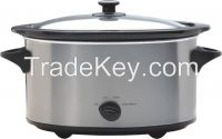 3.5L oval slow cooker