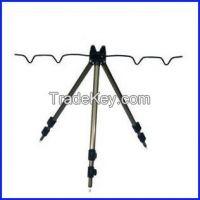 Champagne fishing rod holder/rest
