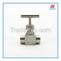 "1/2"" NPT female stainless steel 316 6000psi instrument needle valve"