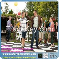 RK pvc cheap dance floor for outdoor party
