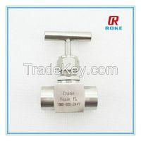 """1/2"""" 10000psi stainless steel needle valve"""