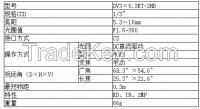 Megapixels Manual Zoom Lens  DV3��5.3ET-2MB