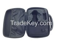 hard plastic carrying case with handle