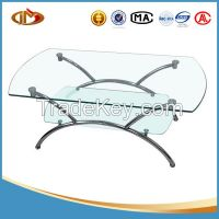 household 10mm high-quality glass coffee table