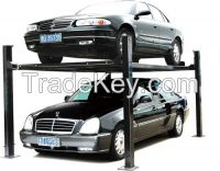 four post car parking equipment and CE certification