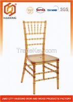 Quality Factory of Wood and Resin Chiavari Chair