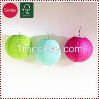 hanging paper lantern for wedding party decoration