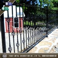 Powder coated hot dipped galvanized high quality round galvanized metal fence posts