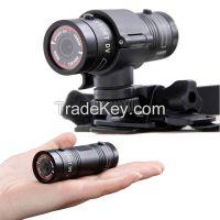 Full HD 1080P Sport Action Camera Mini DV F9 Helmet Camcorder