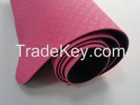 Eco-friendly Gym exercise fitness yoga mats no PVC no Glue contain from BESTOEM