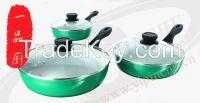 Forged  aluminum ceramic fry pan non-stick skillet