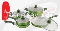 New design  aluminum ceramic milk pot sauce pan