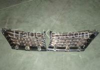 4D BLACK CHROMED CAR GRILLE FOR TIIDA