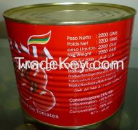 tomato paste 28-30% in can  3000g packing