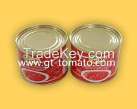 tomato paste 28-30% in can  140g