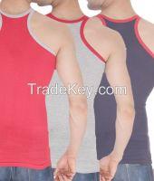 100% cotton mens vests