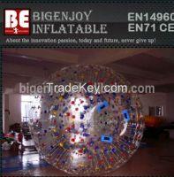 Inflatable Bumper Ball, Water Zorb Ball, Inflatable Grass Ball