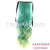 Wig ponytail