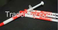 Delicate high thermal conductivity thermal silicone grease