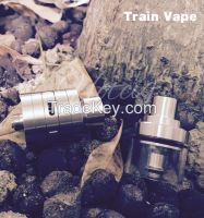 Hotcig train vape ecig 316 stainless steel tank atomizer wholesale with high quality