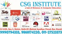 CSG Institute - Admission Consultant, Computer Training