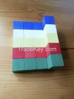 Original Wooden Cube(Color and original wood color)