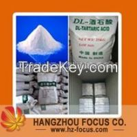 Food grade DL-Tartaric acid monohydrate & Anhydrous