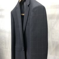 New style luxury check design suiting fabric