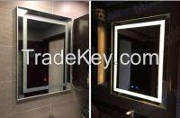 Mgonz belt led lighting anti-fog bathroom mirror
