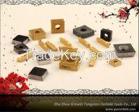 Tungsten carbide CNC insert/ aluminum insert/ insert shim